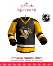 Hallmark 2017 Pittsburgh Penguins Jersey Ornament