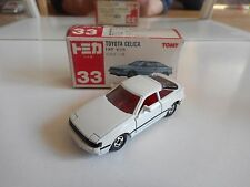 Tomica Toyota Celica 2000 GT-R in White in Box (made in Japan)