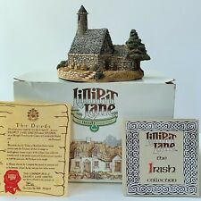 Lilliput Lane St. Kevin'S Church 1989 with Deed & Original Box Handmade in Uk