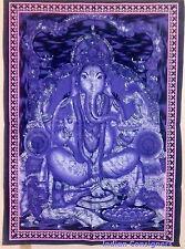 God Ganpati Ganesha Throw Decor Poster Wall Hanging Tapestry Small Bohemian Art