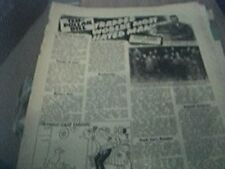 magazine item 1957 original - the lindburgh baby murderer 1 page