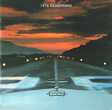 1978 Ford THUNDERBIRD T-BIRD Brochure / Catalog: DIAMOND JUBILEE,LANDAU,
