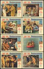 OPERATION PETTICOAT 11x14's CARY GRANT/TONY CURTIS/DINA MERRILL lobby card set