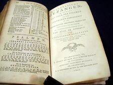 NIEUWE TESTAMENT(1832)~PSALMEN (1835)~EVANGELISCHE GEZANGEN(1840)~CATECHISMUS