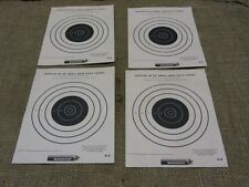 Vintage Set of 4 Winchester Official Target 50 Yard > Antique Gun Rifle 7098