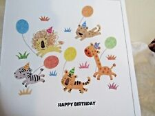 New ListingBirthday greeting card, animals, verse, envelope included.