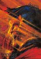 DEMOGOBLIN / Spider-Man Fleer Ultra 1995 BASE Trading Card #18