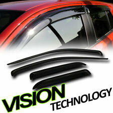 For 02-09 Dodge Ram Quad Cab Sun/Rain Guards Shade Vent Deflectors Window Visor
