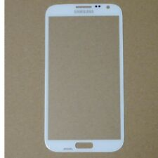FRONT Vetro Display per Samsung Galaxy Note 2 n7100 BIANCO WINDOW