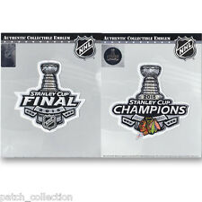 2015 NHL Stanley Cup Final Logo & Champions Patch Chicago Blackhawks Combo