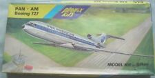 Veb Plasticart Playfix Boeing 727 Flugzeug Modellbaukasten 1:100