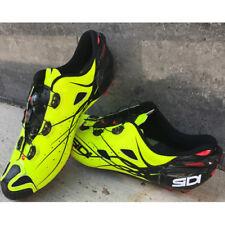 New SIDI TIGER Carbon Mountain MTB Cycling Shoes Bright Yellow US Warehouse