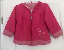 Carter's  Hoodie Zipper Down Lining Windbreaker Girl's Jacket Sz 4T Euc