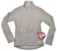 Under Armour COLDGEAR INFRARED Womens Zip Front Jacket Heather Grey Small NEW