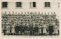 Many Soldiers Real Photo Postcard rppc