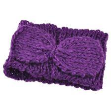 Accessoires de coiffure bandeaux violet pour femme