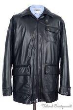 VERSACE Black Polyester ZIP OUT LINING Mens Jacket Coat - EU 54 / XL