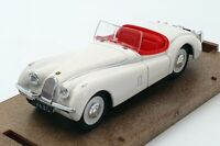 Brumm 1/43 Scale Model Car 101 - 1948 Jaguar 3.5 Litre - White
