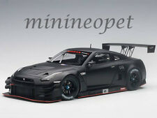 AUTOart 81580 NISSAN SKYLINE GT-R NISMO GT3 1/18 MODEL CAR MATTE BLACK