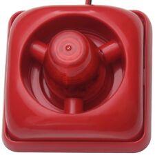 12V 110dB LED Alarmsirene Alarm Sirene Alarmanlage Blitzlicht Alarm Signalgeber