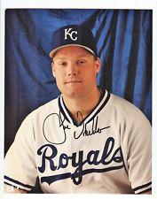 JOE VITIELLO Signed 8x10 Photo KANSAS CITY ROYALS PSA/DNA LOA