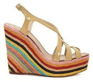 Kate Spade Rainbow Stripe Sandals