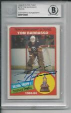 TOM BARRASSO Signed 1984 O-PEE-CHEE ROOKIE Card #379 Beckett Authenticated