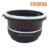 M645-NEX For Mamiya 645 Lens to Sony E Mount NEX A5100 A6000 NEX-6 A7 Adapter