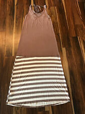 Mon Ami- Maxi dress NEW/ with Tags (Sz- Lg) (Overstock from our store)