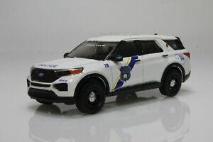 2020 Ford Explorer Philadelphia Pennsylvania, Police 1:64 Scale Diecast Model