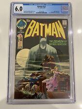 Batman 227 CGC 6.0 Classic Neal Adams Cover  clean slab
