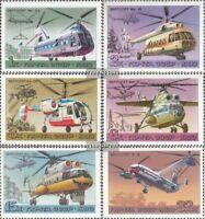 Sowjet-Union 4956-4961 (kompl.Ausg.) gestempelt 1980 Hubschrauber der AEROFLOT
