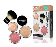 Bellapierre Flawless Complexion Kit_Foundation/Blush/Concealer - MEDIUM-Minerals