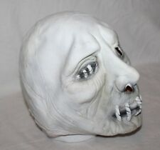 Horror Mummy Over The Head Latex Mask Rubber Scary Adult Zombie Stitched Mouth