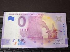 BILLET EURO SOUVENIR 2021-4 FALAISE D'ETRETAT CÔTE D'ALBÂTRE