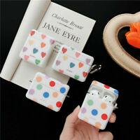 For Apple Airpods Pro 1 2 Cute Lovely Polka Dots Earphone Protective Case Cover