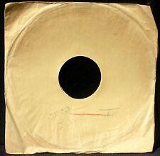 Pochette 78 trs / 78 RPM avec tampon Musique Nicole & Cie, Paris 17e