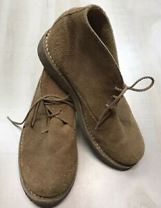 Orvis Tan Suede Gum Sole Chukka Boots Men's Size 9 Made In Brazil