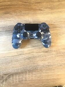 Blue Camo Wireless DualShock Controller For PS4 (PlayStation 4)