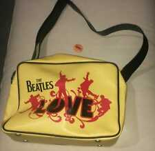 The Beatles Cirque Du Soleil Plastic Bag Borsa + Pin Button LIKE NEW OFFICIAL