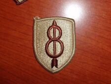 ARMY PATCH, 8TH INFANTRY DIVISION, DESERT