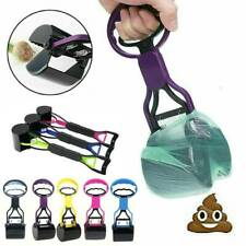 Pet Dog Waste Easy Pickup Pooper Scooper Walking Poo Poop Scoop Grabber Picker.