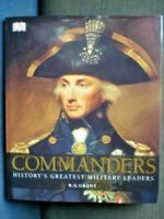 BOOK MILITARY WAR GREATEST COMMANDERS 360 PAGES FULLY ILLUSTRATED SEE PICS