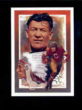 1994 TW JIM THORPE Hall of Fame Auckland Collection Rare Insert Card