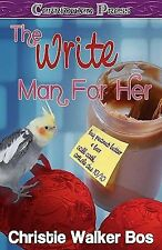 NEW The Write Man for Her by Christie Walker Bos Paperback Book (English) Free S