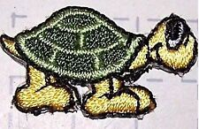 Lot of 4 - Turtle Embroidery Applique Patch iron on - Kids