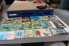 Tintin Job Lot 16 x books See photos for titles