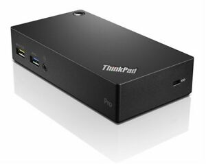 Lenovo ThinkPad USB 3.0  PRO DOCK Universal + Original Power Supply, Surface Pro