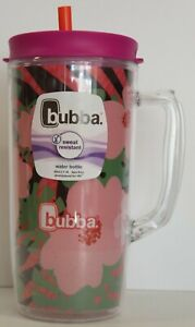 Bubba Envy Dual-Wall Insulated Mug with Straw, 48 oz., Pink Sorbet Hibiscus