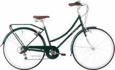 Vélos verts en acier pour femme